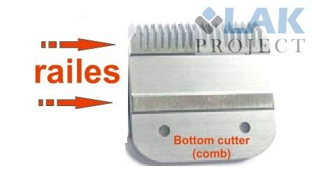 clipper blade bottom cutter